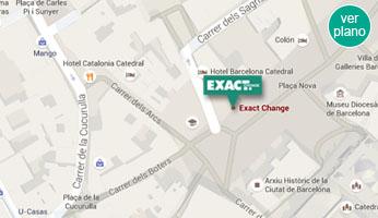 Barcelona exact change cambio de divisas y moneda - Oficinas de cambio de moneda ...