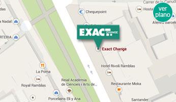 Barcelona exact change cambio de divisas y moneda - Oficina de cambio barcelona ...