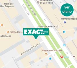 Cambio de divisas y moneda en barcelona exact change for Oficinas de cambio de moneda en barcelona
