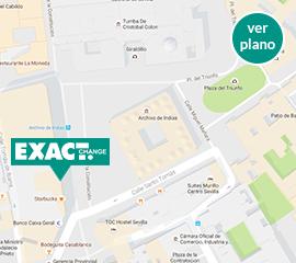 Cambio de divisas y moneda en sevilla exact change for Oficinas de cambio de moneda en barcelona