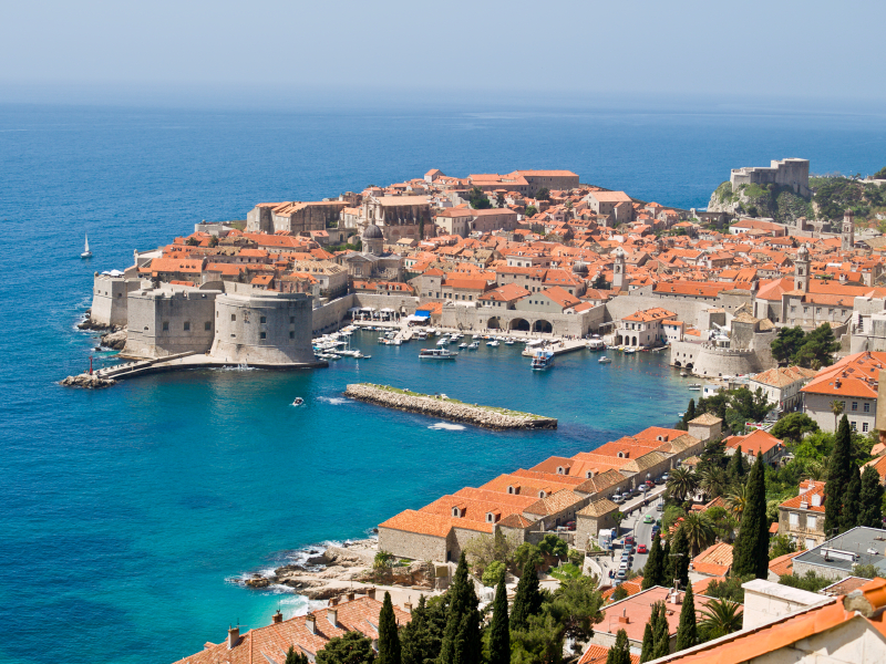 Dubrovnik Fortress - in the south of Croatia
