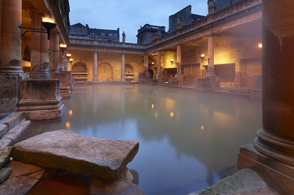 roman baths in bath spa