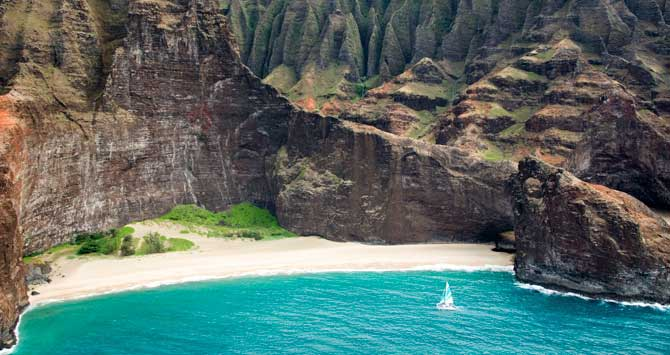 Honopu beach hawaii