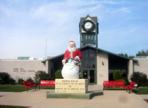 town hall santa claus indiana