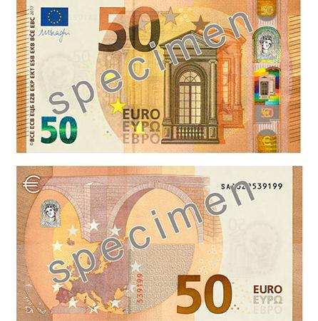 nuevo billete de 50 euros en circulaci n en abril 2017. Black Bedroom Furniture Sets. Home Design Ideas