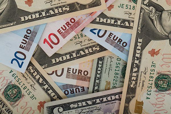 cambio euros dolares